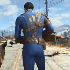 Fallout 4 at Wikia Fallout Costume, Fallout Cosplay, Fallout Art, Vault 111, Vault Dweller, Fall Out 4, Leather Armor, Post Apocalypse, Games