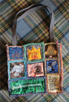 Teesha Moore style Harry Potter Tote (WARNING: Lots of Pictures!) - PURSES, BAGS, WALLETS