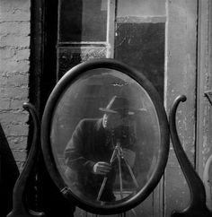 Arnold Newman, Self Portrait, Baltimore MD, 1939