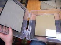 DIY Portable glass palette