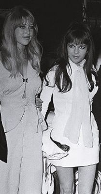 Pattie Boyd and Maureen Starkey