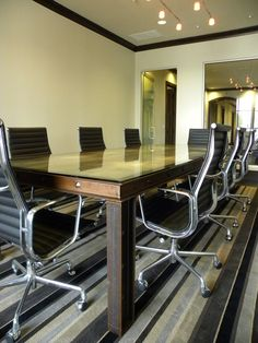 I Beam Conference Table