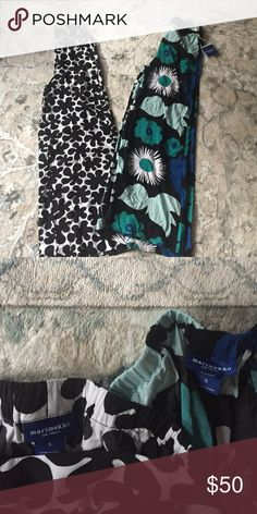 BUNDLE -  2 pairs of Marimekko palazzo pants Excellent condition - one still has the tags on. Marimekko Pants