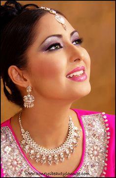 Pakistani / Indian Bridal make up by honeysbeautylounge, via Flickr