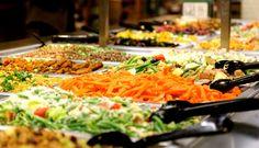 Whole Foods Salad Bar - best salad bar ever, hands down