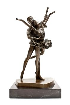 Ballet Couple Dance Bronze Sculpture