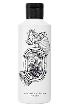 Eau Rose body lotion by diptyque pays homage to the Queen of Flowers with its classic scent enlivened by bergamot, blackcurrant, musk, cedar and honey. The cream moisturizes your skin with a blend of macadamia oil and aloe vera to leave you feeling rich, silky and hydrated all day long.