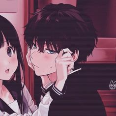 -- Cute Anime Profile Pictures, Matching Profile Pictures, Cute Anime Pics, Best Anime Couples, Anime Love Couple, Anime Couples Manga, Friend Anime, Anime Best Friends, Anime Neko