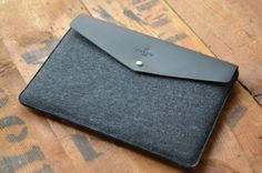 Envelope 15 MacBook Pro Retina Leather Sleeve Case by HarberLondon