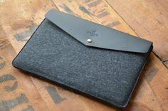 Envelope 15 MacBook Pro Retina Leather Sleeve Case by HarberLondon