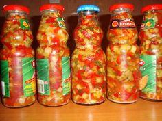 Salsa, Stuffed Peppers, Vegetables, Food, Life Tips, Preserves, Gravy, Salsa Music, Restaurant Salsa