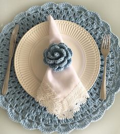 [New] The 10 Best Home Decor Today (with Pictures) Crochet Placemats, Crochet Doilies, Crochet Flowers, Crochet Kitchen, Crochet Home, Knit Crochet, Crochet Edging Patterns, Romantic Table, Crochet Flower Tutorial