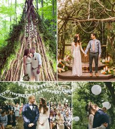 How To Throw The Ultimate Boho and Free Spirited Style Woodland Wedding | http://www.pocketfulofdreams.co.uk/