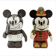 Vinylmation Mickey Through the Years 3'' Figure Set - Plane Crazy and The Band Concert
