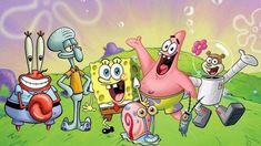 """Nickelodeon and the United States Postal Service team up for """"Spongebob Mailpants"""" letter writing program; 30 custom-wrapped SpongeBob Mailboxes placed in 13 cities nationwide as program rolls out in post office locations. Wallpaper Spongebob, Cartoon Wallpaper, Spongebob Cartoon, Spongebob Birthday Party, Disney Home Decor, All Episodes, Spongebob Squarepants, Cartoon Characters, Creations"""