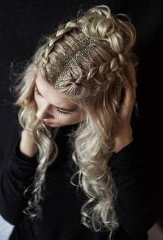 Dance Hairstyles, Christmas Hairstyles, Party Hairstyles, Down Hairstyles, Cute Hairstyles, Braided Hairstyles, Hairstyle Ideas, Festival Hairstyles, Bohemian Hairstyles