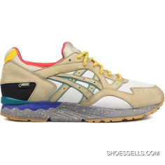 best sneakers 30ae8 74815 Asics Gel-Lyte V Bodega Vapor Blue Olive Grey Shoes