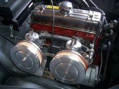 A well maintained B16B in a 1961 Volvo 544. (It has the important add-on heat shield to prevent vapor lock on the rear carb).