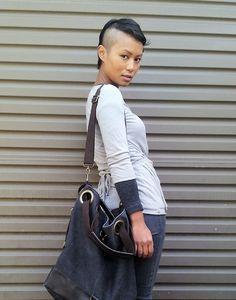 nice hair, nice bag