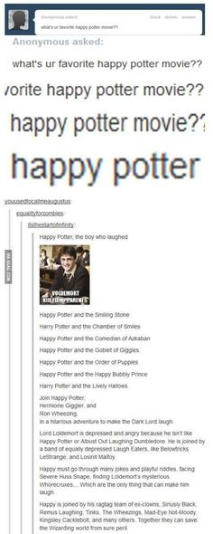 When Tumblr made a whole new Potter series.