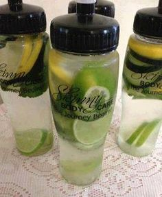 Skinny Body Fat Flush and Detox Drink all day long!  For more Healthy, Low calorie and diabetic friendly recipes, Health tips, and more join MY Healthy living and recipes Group --> http://www.facebook.com/groups/annieshealthyfriends  1 cucumber 1 lemon 2 limes... 1 bunch of mint  Slice them all and divide the ingredients between four 24 oz water bottles and fill them up with filtered water. Drink daily Not only does this taste delicious and help flush fat, but it also counts toward your…