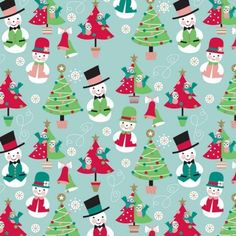 FROSTY FRIENDS 10' WRAP 12/PK - Gift Wrap