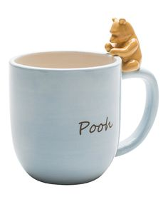 Winnie the Pooh Figurine Mug- I feel a little bad that this is so popular, as it was my childish humor that caused me to pin it.
