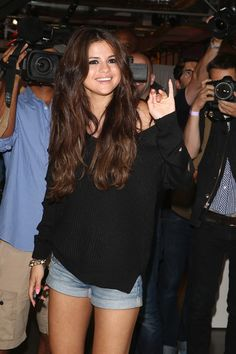 Selena Gomez cutout sweater