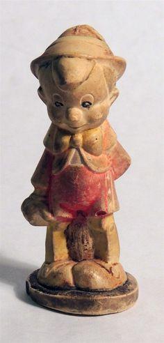M171 Vintage Walt Disney Pinocchio Ceramic Figurine RARE | eBay