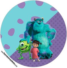 Monster Inc Party, Monster University Party, Monsters Inc University, Monster Inc Birthday, Monsters Inc Boo, Monsters Ink, Birthday Party Themes, 2nd Birthday, Sully And Boo