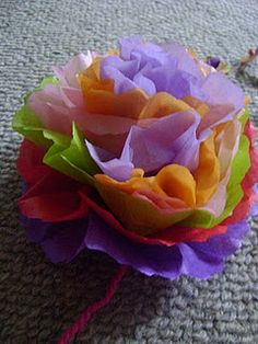 Mexican Paper Flower Tutorial