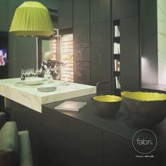 Cozinhas exclusivas criam experiências únicas :: Exclusive kitchens create unique experiences. #FabriDesignAttitude