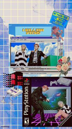 "yourexul on Twitter: ""Live like clouds☁️✨ #세훈찬열_10억뷰_D_9 #1BillionViewsDay9 #EXO_SC… "" 80s Posters, Kpop Posters, Soft Wallpaper, Iphone Wallpaper, Minimalist Photos, Exo Lockscreen, Graphic Design Posters, Kpop Aesthetic, Loving U"