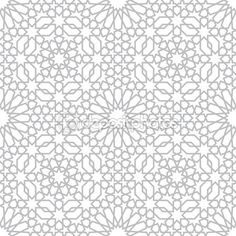 Pattern in islamic style — Stock Illustration #73930353