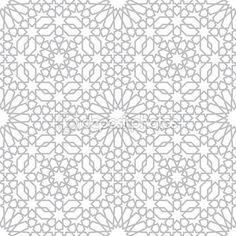 Pattern in islamic style — Stock Illustration #73930353
