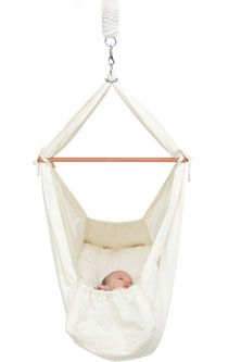Baby Hammock   Baby   Pinterest   Baby hammock  Mattress and Cotton Natures Sway Baby Hammock   definitely need to try something like this for  Baby