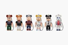 fred perry x medicom toy 60th anniversary 70 bearbrick series