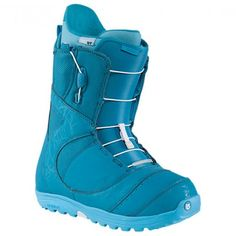 Burton Mint Snowboard Boots - The Teal Deal