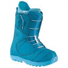 Burton Mint Snowboard Boots - The Teal Deal