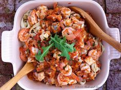 Seafood Tagliatelle