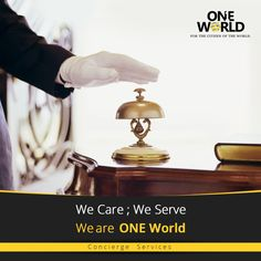 ☛ We Care; We Serve; We are ONE World ☚ Complement yourself with Personalized Service, Tailored to fit your needs. ☛www.chennaioneworld.com  #Luxury #Lifestyle #Concierge