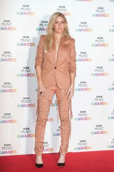 English Singer Ellie Goulding Exclusive Photoshoot at BBC Music Awards at Earl's Court Exhibition Centre