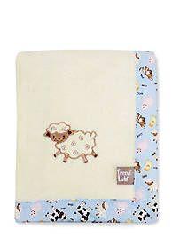 Trend Lab® Baby Barnyard Framed Receiving Blanket - Online Only