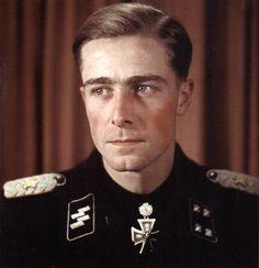 SS-Standartenführer Joachim Peiper http://www.historicalwarmilitariaforum.com/topic/6937-ritterkreuztr%C3%A4ger-photos-in-color-thread/page-8