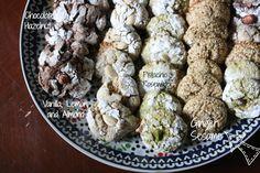 Sesame Ginger Ghriba #eid #glutenfree #cookie #morocco
