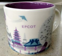 "News! Disney Pulls Starbucks ""Monorail Purple"" Epcot Mug from Shelves - if you got one, hold onto it!"