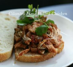 cilantro lime shredded salsa chicken