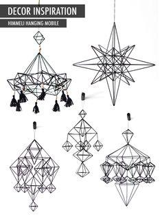 Decor Inspiration // Himmeli Mobile   Anne RueAnne Rue