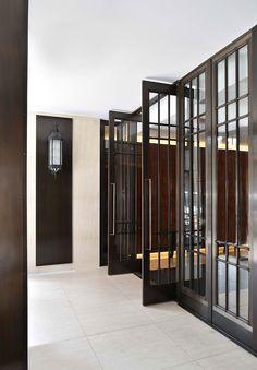 6 interior design Projects that you'll love by MARKEZEFF Galley Kitchen Design, Modern Kitchen Design, Window Grill Design, Door Design, Entrance Doors, Door Entryway, Steel Doors, Internal Doors, Cool House Designs
