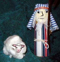 Shepherd and sheep craft Sheep Crafts, Vbs Crafts, Church Crafts, Bible Crafts, Diy Crafts For Kids, Sunday School Activities, Sunday School Crafts, Christmas Music, Christmas Crafts